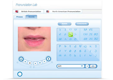 The English pronunciation lab