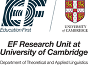 logo della collaborazione per la ricerca accademica tra EF e Cambridge